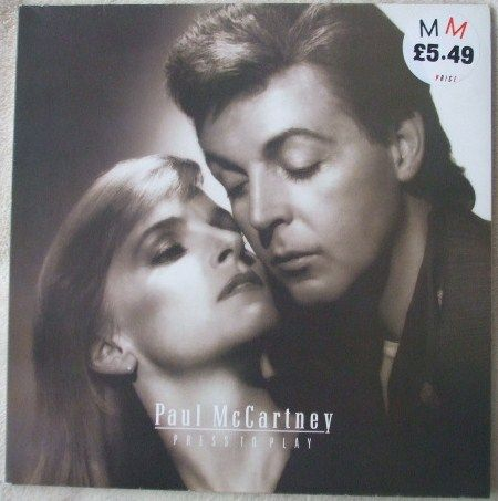 Paul McCartney PCSD 103 PRESS TO PLAY Vinyl LP Masterdisk