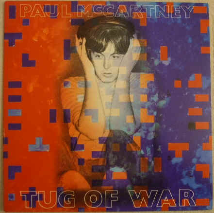 Paul McCartney TUG OF WAR Vinyl LP