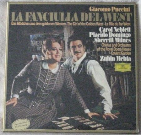 Puccini THE GIRL OF THE GOLDEN WEST Box Set Sealed Mehta