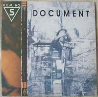 R.E.M. NO 5 DOCUMENT Vinyl LP