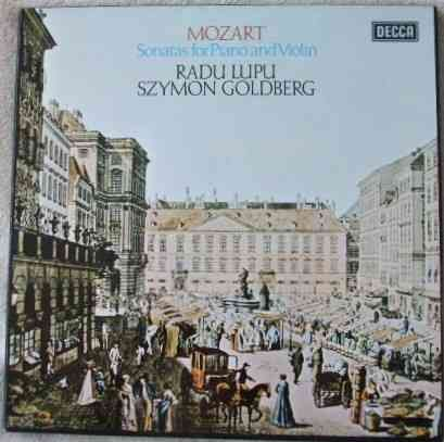 Radu Lupu Szymon Goldberg MOZART SONATAS FOR PIANO AND VIOLIN 6 LP Box Set