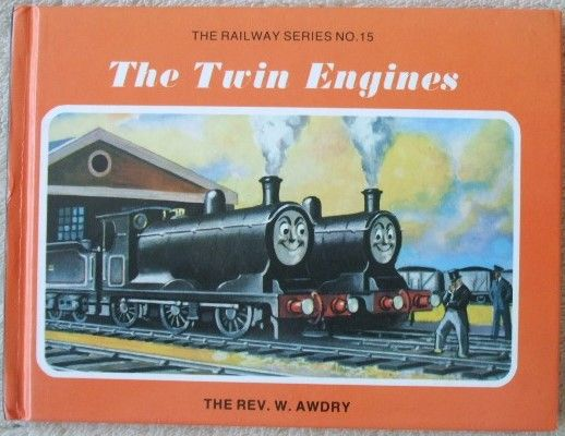 Rev W Awdry THE TWIN ENGINES Signed Reprint