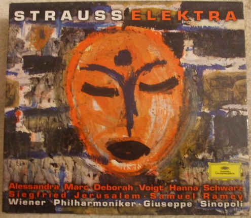 Richard Strauss ELEKTRA Sinopoli 2 CD