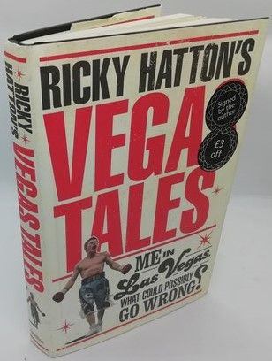 Ricky Hatton VEGAS TALES First Edition Signed