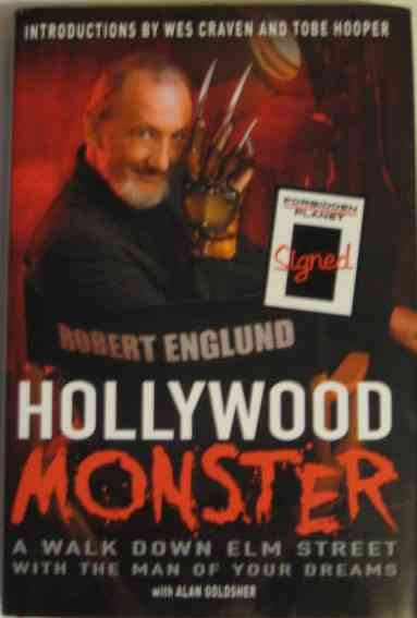 Robert Englund HOLLYWOOD MONSTER First Edition Signed