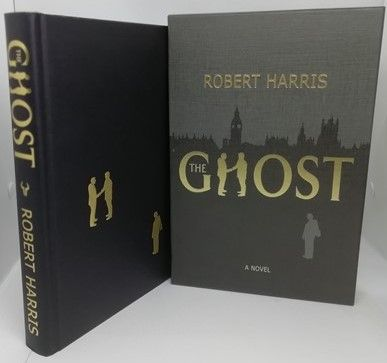 Robert Harris THE GHOST Signed Slipcased Limited Edition
