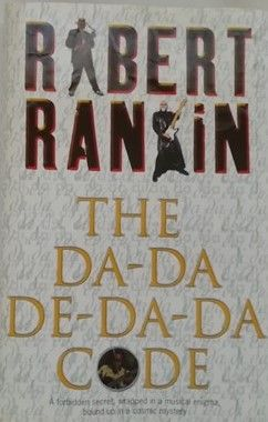 Robert Rankin THE DA-DA-DE-DA-DA CODE First Edition Signed