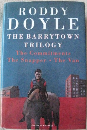 Roddy Doyle THE BARRYTOWN TRILOGY Signed Hardback