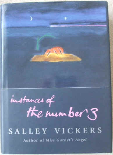 Salley Vickers INSTANCES OF THE NUMBER 3 Signed Hardback