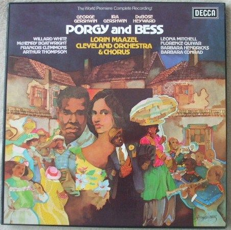 SET 609-11 Gershwin PORGY AND BESS Box Set TAS Listed