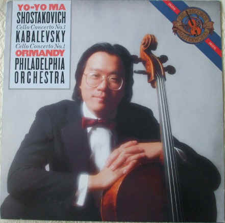 Shostakovich: CELLO CONCERTO NO 1 & Kabalevsky: CELLO CONCERTO NO 1 Vinyl LP