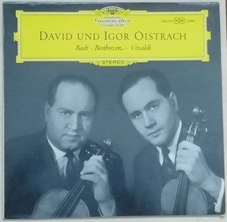 SLPM 138714 Bach Beethoven Vivaldi WORKS FOR VIOLIN AND ORCHESTRA Vinyl LP Oistrakh