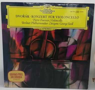 SLPM 138755 Dvorak CELLO CONCERTO Vinyl LP Tulips Fournier