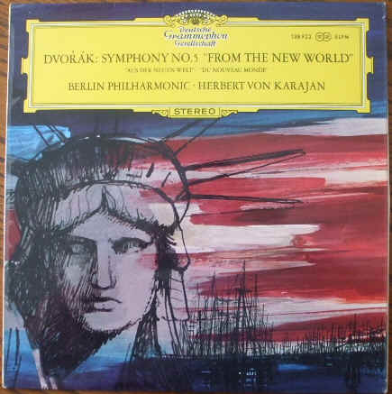 SLPM 138922 Dvorak SYMPHONY NO 5 FROM THE NEW WORLD Vinyl LP Karajan