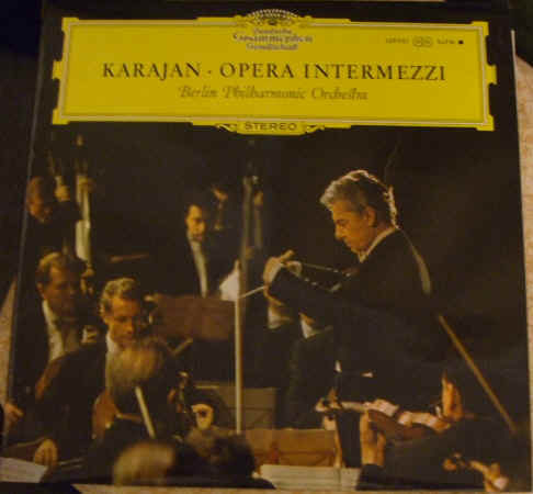 SLPM 139031 OPERA INTERMEZZI UK Tulips Karajan