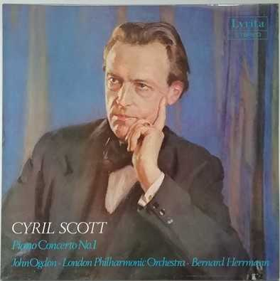 SRCS 81 Cyril Scott PIANO CONCERTO NO 1 Vinyl LP Ogdon