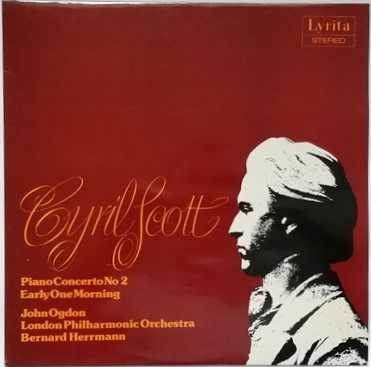 SRCS 82 Cyril Scott PIANO CONCERTO NO 2 Vinyl LP Ogdon