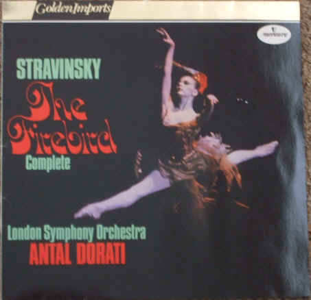 SRI 75058 Stravinsky THE FIREBIRD Vinyl LP Dorati