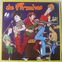 SRK 6098 THE PIRANHAS Self Titled Vinyl LP