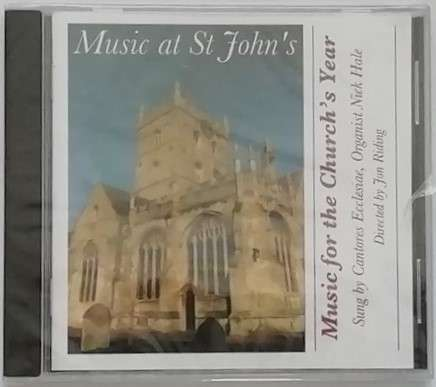 St John's MUSIC FOR THE CHURCH'S YEAR Sealed CD