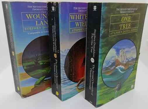 Stephen Donaldson The Second Chronicles of Thomas Covenant Paperback Set