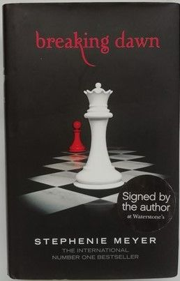 Stephenie Meyer BREAKING DAWN Signed Limited Edition