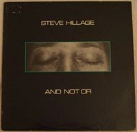 Steve Hillage AND NOT OR Vinyl LP