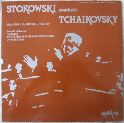 Stokowski CONDUCTS TCHAIKOVSKY Vinyl LP Supercut