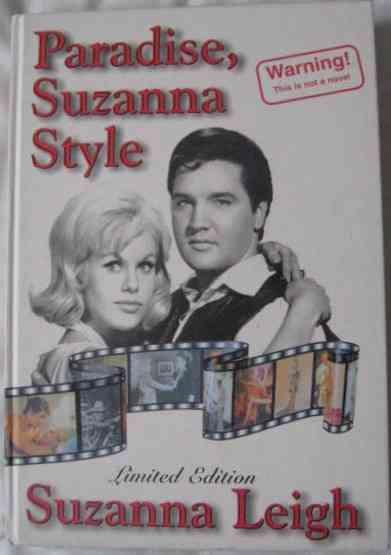 Suzanna Leigh PARADISE SUZANNA STYLE First Edition Signed