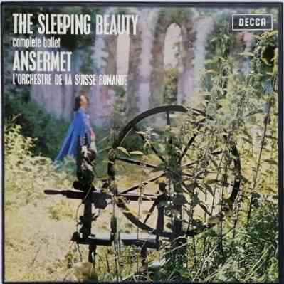 SXL 2160-2 Tchaikovsky THE SLEEPING BEAUTY Box Set WB ED3 Ansermet