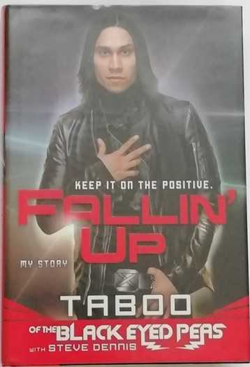 Taboo FALLIN UP MY STORY First Edition Signed
