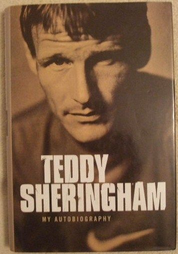 Teddy Sheringham MY AUTOBIOGRAPHY First Edition Signed