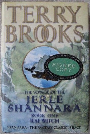 Terry Brooks ILSE WITCH Signed Hardback