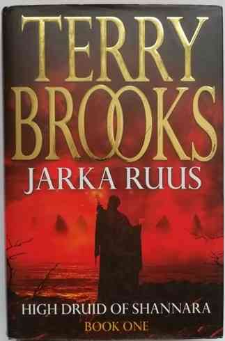 Terry Brooks JARKA RUUS First Edition Signed
