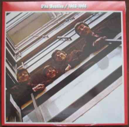The Beatles 1962-1966 Double Vinyl LP Sealed DeAgostini