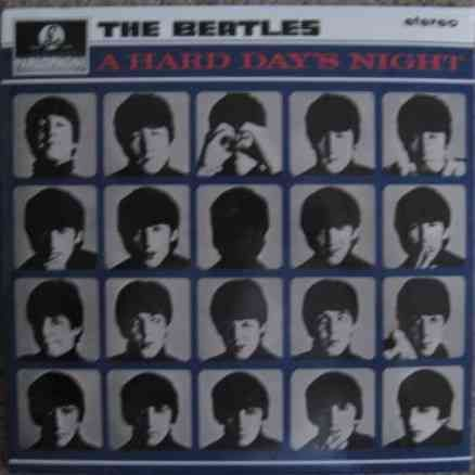 The Beatles A HARD DAY'S NIGHT Vinyl LP Sealed DeAgostini