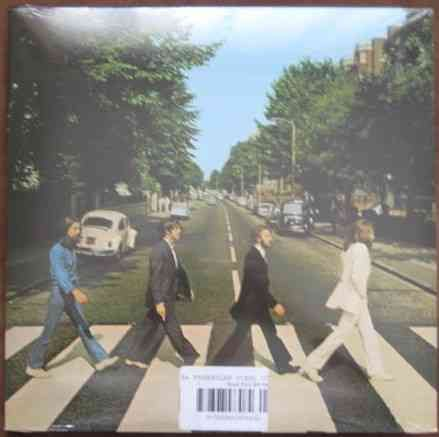 The Beatles ABBEY ROAD Vinyl LP Sealed DeAgostini