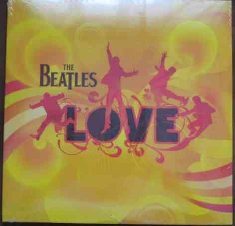 The Beatles LOVE Sealed Double Vinyl LP DeAgostini