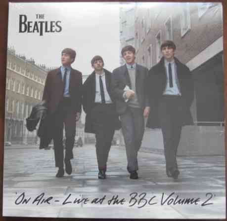 The Beatles ON AIR - LIVE AT THE BBC VOLUME 2 Triple Vinyl LP Sealed DeAgostini