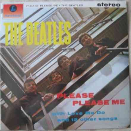 The Beatles PLEASE PLEASE ME Vinyl LP Sealed DeAgostini