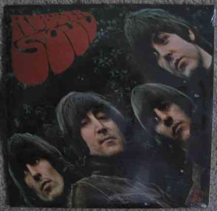 The Beatles RUBBER SOUL Vinyl LP Sealed DeAgostini