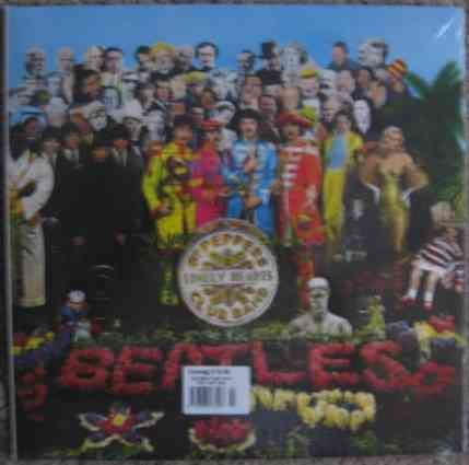 The Beatles SGT PEPPERS LONELY HEARTS CLUB BAND Vinyl LP Sealed DeAgostini