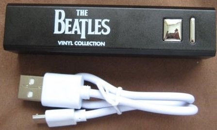 The Beatles Vinyl Collection USB POWER BANK Brand New