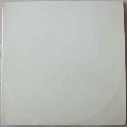 THE BEATLES WHITE ALBUM Vinyl LP Portugal Pressing