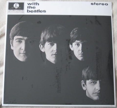 The Beatles WITH THE BEATLES Vinyl LP Sealed DeAgostini