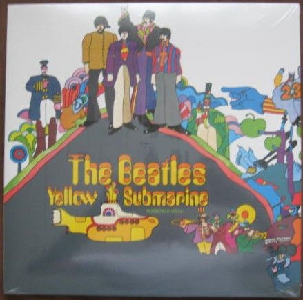 The Beatles YELLOW SUBMARINE Vinyl LP Sealed Plus Magazine De Agostini