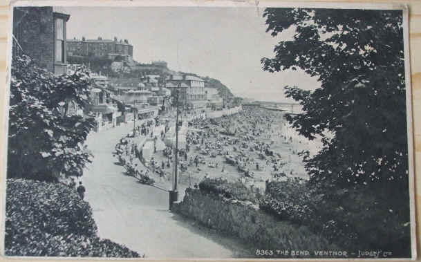 The Bend VENTNOR ISLE OF WIGHT 1929 Photogravure