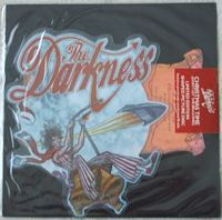 The Darkness CHRISTMAS TIME Shaped Picture Disc Still Sealed
