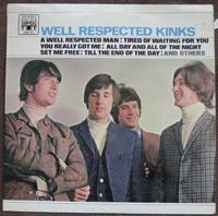 The Kinks MAL 612 WELL RESPECTED KINKS Vinyl LP