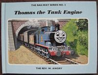 The Rev W Awdry THOMAS THE TANK ENGINE Signed Hardback